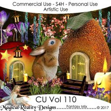 Fantasy Mix - CU Vol 110 by MagicalReality Designs