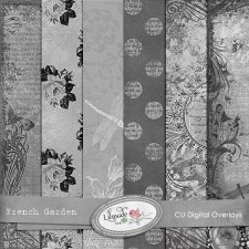 French Garden Overlays Lilmade Designs