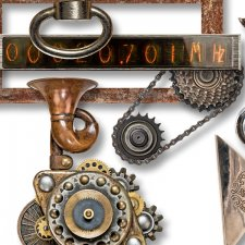 Vol. 648 Steampunk Mix by Doudou Design