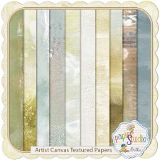 Artist Canvas EXCLUSIVE papers with Recoloring Tutorial by Papierstudio Silke