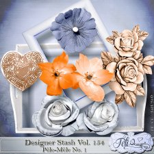 Designer Stash Vol 154 Pêle-Mêle No. 1 by Feli Designs