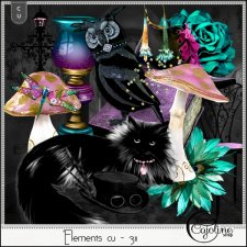 Elements CU - 311 Magical inspiration by Cajoline-Scrap