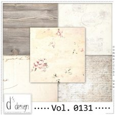 Vol. 0131 Vintage papers by Doudou's Design