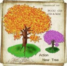 Action - New Tree by Rose.li