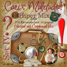 Maletuchas set 4 - Hiper Mix by Cari Lopez