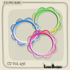 CU Vol 256 Frames Pack 2 by Lemur Designs