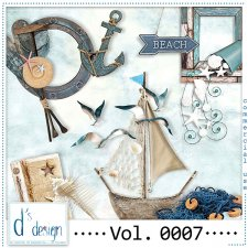 Vol. 0007 Beach Mix by Doudou Design
