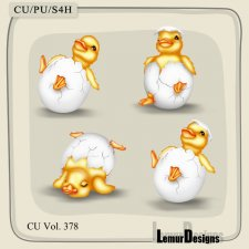 CU Vol 378 Easter Duck by Lemur Designs