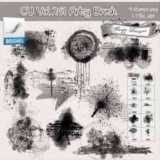 CU vol 261 Artsy Brush by Florju Designs