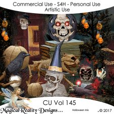 Halloween/Autumn Mix- CU Vol 145 by MagicalReality Designs