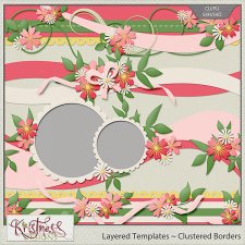 Layered Border Templates Set 1