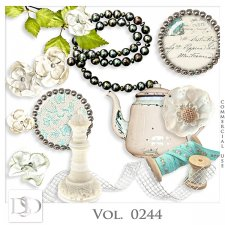 Vol. 0244 Vintage Mix by Doudou Design