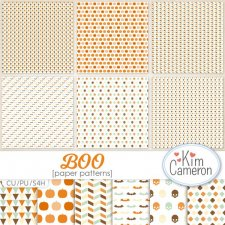 Boo Patterns Layered Templates by Kim Cameron