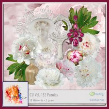 Vol. 152 Peonies EXCLUSIVE bymurielle