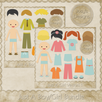 JC Just A Boy/Girl Bundle