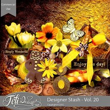 Designer Stash Vol. 20 - CU by Feli Designs