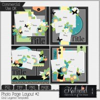Quick Pages Layered Templates Pack No 2