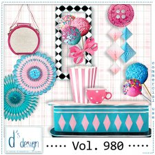 Vol. 980 Fifties Mix by Doudou Design