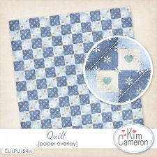 Quilt Overlay Template by Kim Cameron
