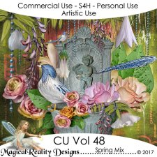 Spring Mix - CU Vol 48 by MagicalReality Designs
