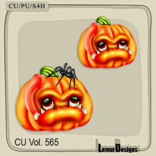 CU Vol 565 Pumpkin by Lemur Designs