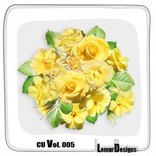 CU Vol 005 Flowers by Lemur Designs