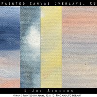 Painted Canvas, Vol 1 - Commercial Use