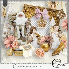 Christmas pack CU - 35 by Cajoline-Scrap