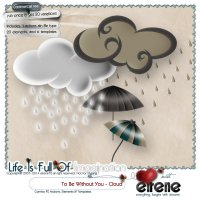 To Be Without You - Cloud Combo: Actions, Templates & Embellishments