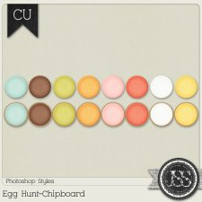 Egg Hunt Chipboard PS Styles by Just So Scrappy