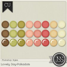 Lovely Day Polkadots PS Styles by Just So Scrappy