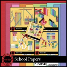 School Collection by Happy Scrap Art