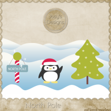 North Pole Layered Templates