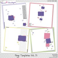 Page Templates Vol.01 by Giane Designs