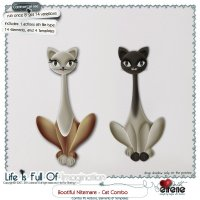 Bootiful Nitemare-Cat Combo: Actions, Templates & Embellishments