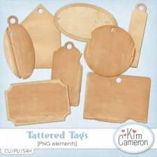 Tattered Tags by Kim Cameron