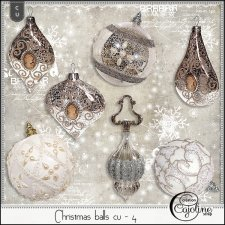 Christmas balls cu - 4 by Cajoline-Scrap
