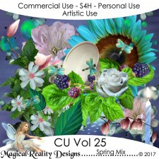 Spring Mix - CU Vol 25 by MagicalReality Designs