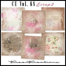 CU Vol. 68 Papers Pack Scrap 2 by Kreen Kreations