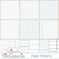 Paper Patterns by Kim Cameron