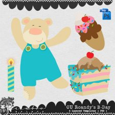 Roandy's B-day Templates by Peek a Boo Designs