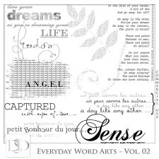 Everyday Word Arts Vol 02 by D's Design