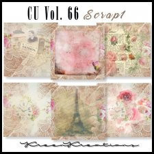 CU Vol. 66 Papers Pack Scrap 1 by Kreen Kreations