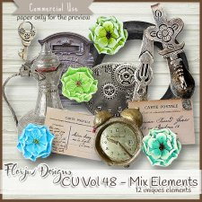CU vol 48 Mix Elements by Florju Designs