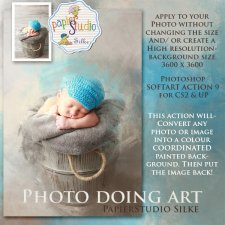 Action Soft Art 9 - Photo Doing Art EXCLUSIVE by PapierStudio Silke