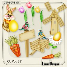 CU Vol. 381 Easter Spring by Lemur Designs