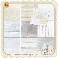 Marine Wood Paper Pack by Papierstudio Silke