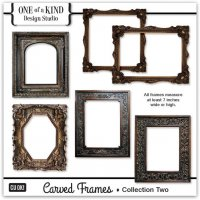 Carved Frames - Collection Two