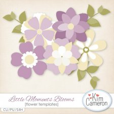Little Moments Blooms Templates by Kim Cameron