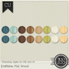 Caffeine Fix Wood PS Styles by Just So Scrappy